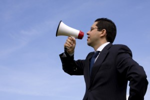 http://www.dreamstime.com/stock-images-businessman-speaking-megaphone-image4866614