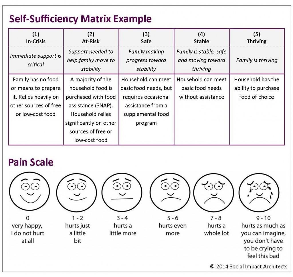 Self-Sufficiency Matrix