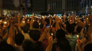 Candle light vigil small