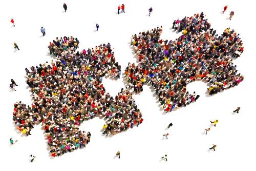 Collaboration Puzzle Pieces