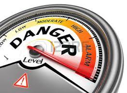 Danger guage