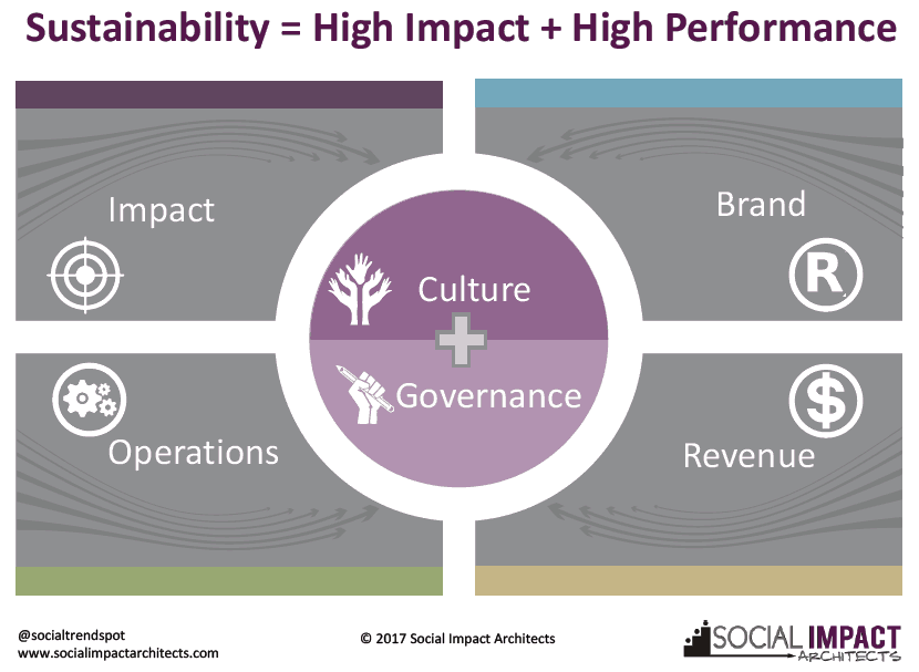 Sustainability = High Impact + High Performance Social Sector Organizations