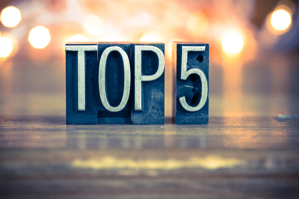 Top 5 1