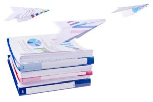 Flying papers small