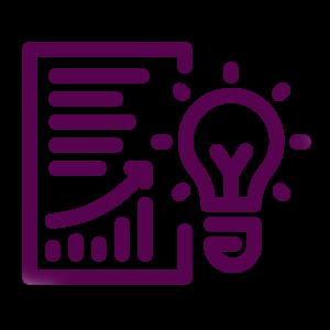 Biz Planning Icon purple