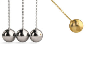 Social Alchemy Newtons Cradle small