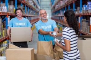 Volunteer Food Drive