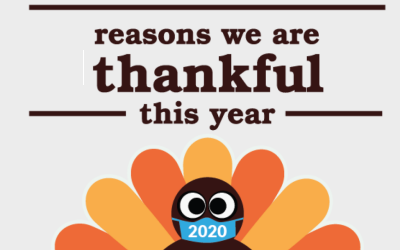 Reasons We Are Thankful this Year